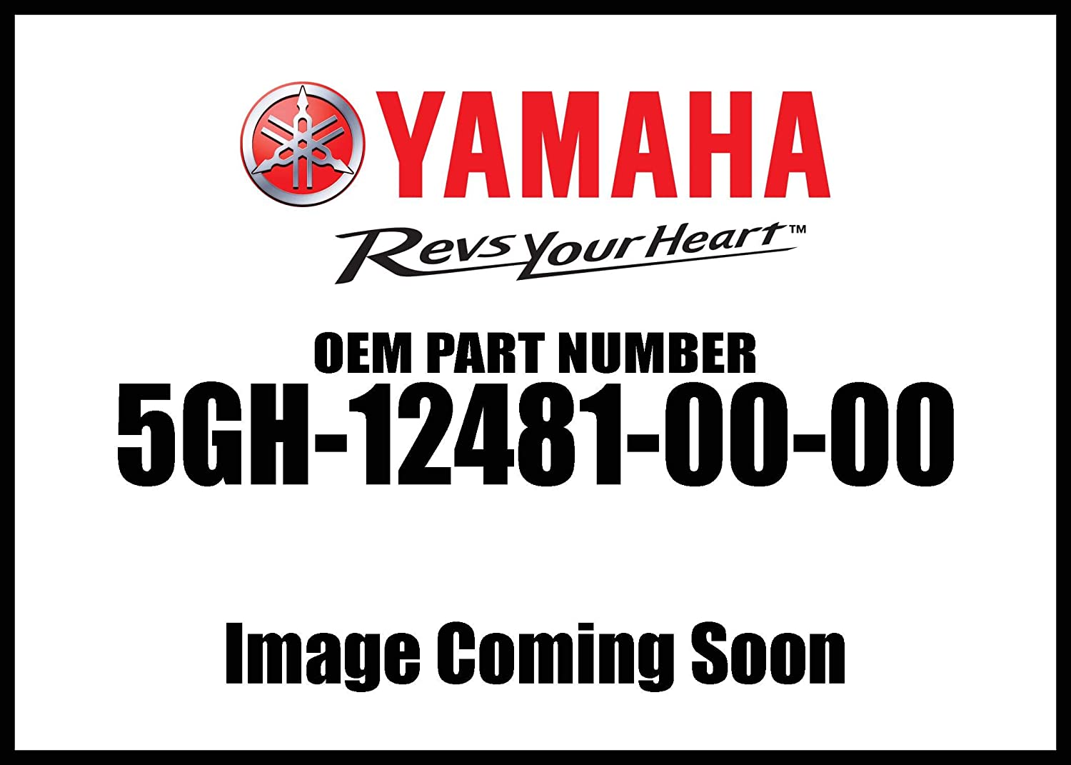 Yamaha 5GH-12481-00-00 Pipe 1; 5GH124810000 Made by Yamaha