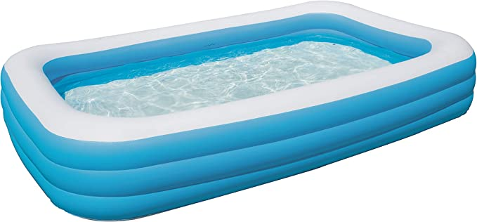 Bestway 54009 - Piscina Hinchable Infantil Rectangular 305x183x56 ...