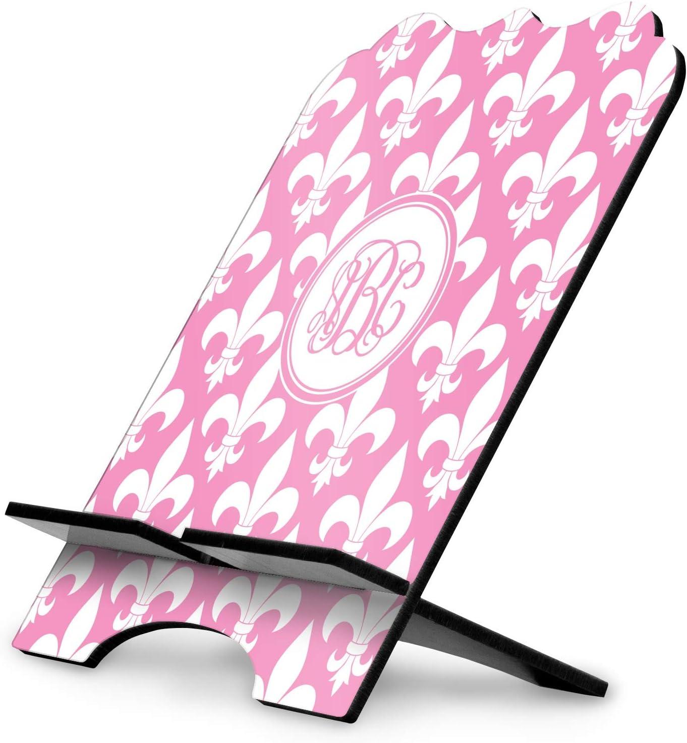 YouCustomizeIt Fleur De Lis Stylized Tablet Stand Personalized
