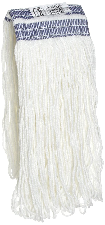 Rubbermaid Universal Headband Rayon Mop, White