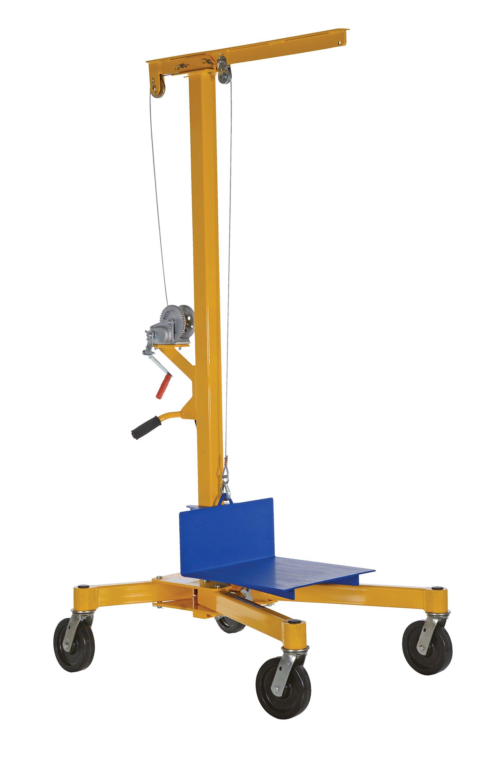 Vestil LIFTER-2 Portable Work Site Lift, 500 lb., 90.5625'' Height