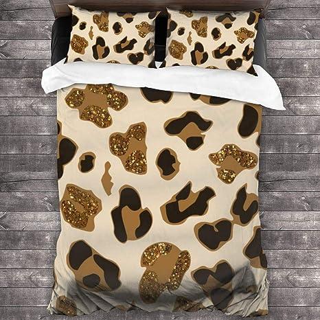Doll Quilt Set Cheetah