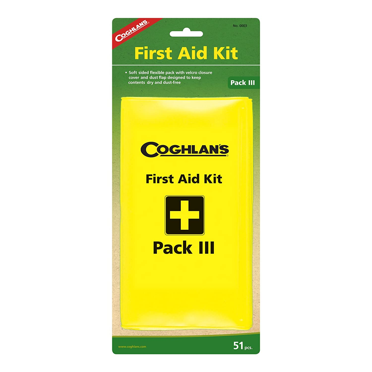 Coghlan's Pack III First Aid Kit Coghlans 0003