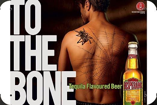 Desperados Beer: DESPERADOS SPIDER metal poster cartel ...
