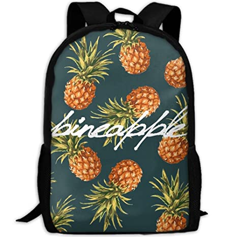 Amazon.com: Coloured Pineapple Full 3D Print Backpack College School Laptop Bag Daypack Travel Shoulder Bag For Unisex: Sports & Outdoors