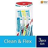 Aquafresh Everyday Soft Clean Toothbrush, 3ct