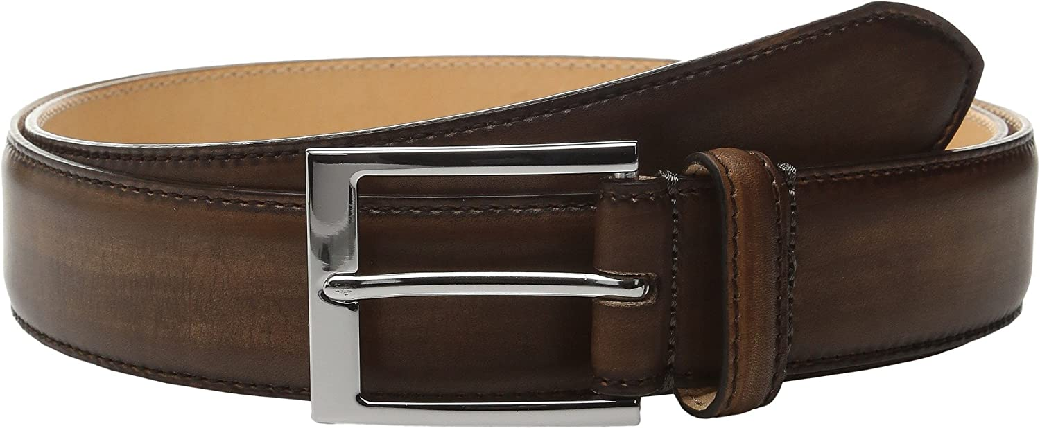 To Boot New York Mens Belt Cognac Italian Calf 34