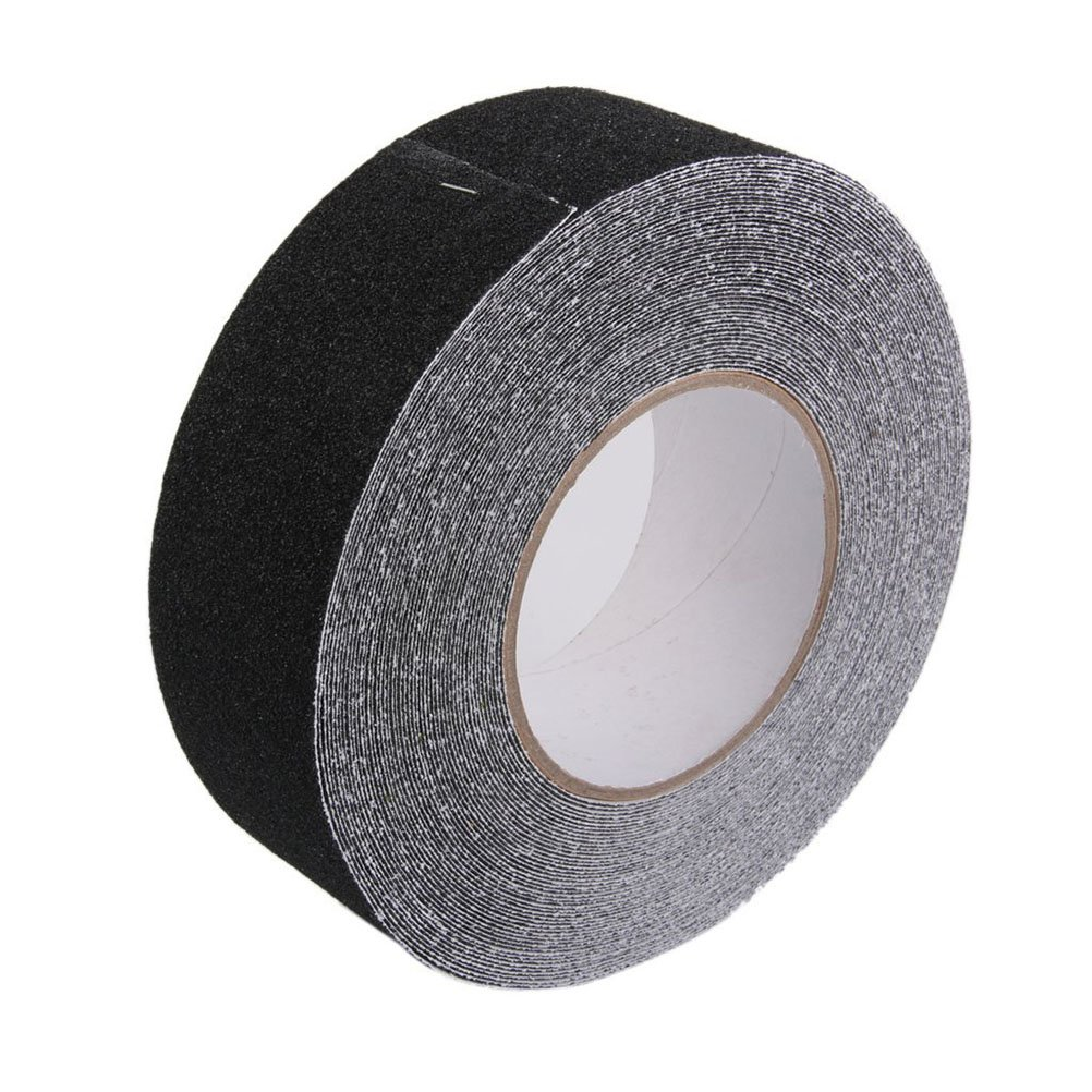 Noir ueetek 18/m Ruban adh/ésif antid/érapant ruban de s/écurit/é ne scivolato rubans en polypropyl/ène en PVC ruban adh/ésif adapt/ée /à//marches escalier//marches//escaliers//rampes etc