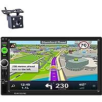 Reakosound Reproductor MP5 7 pulgadas Radio 2 din 1080P HD Pantalla Táctil Bluetooth GPS de navegación Car Stereo Radio…