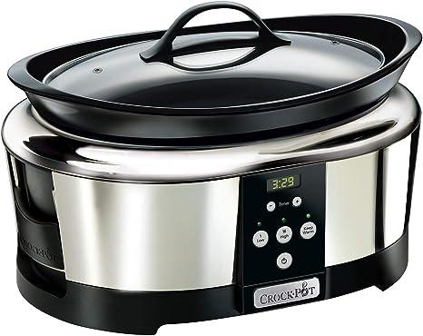 Crock-Pot SCCPBPP605-050 Olla de cocción lenta digital para ...