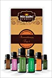 Niradhi Herbals Aromatherapy Top-6 Essential Oils Gift Set 6/10Ml