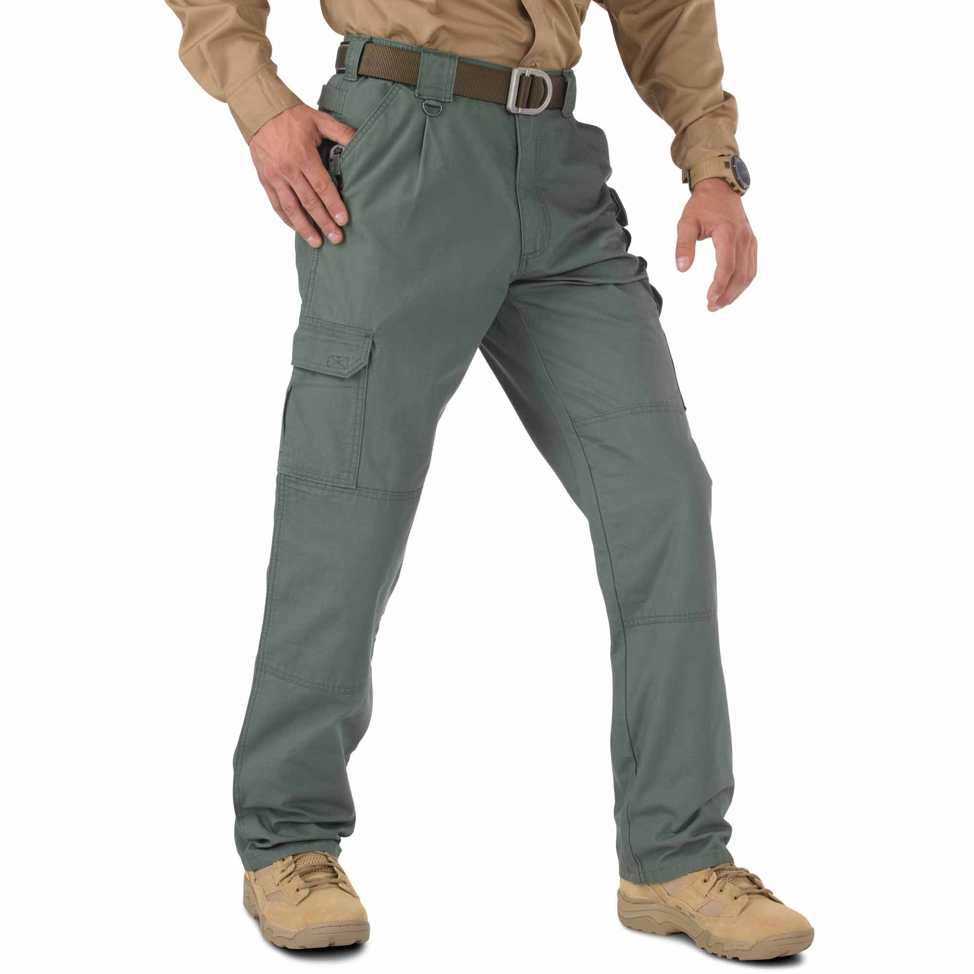 5.11 Tactical Pants,OD Green,42Wx36L by 5.11