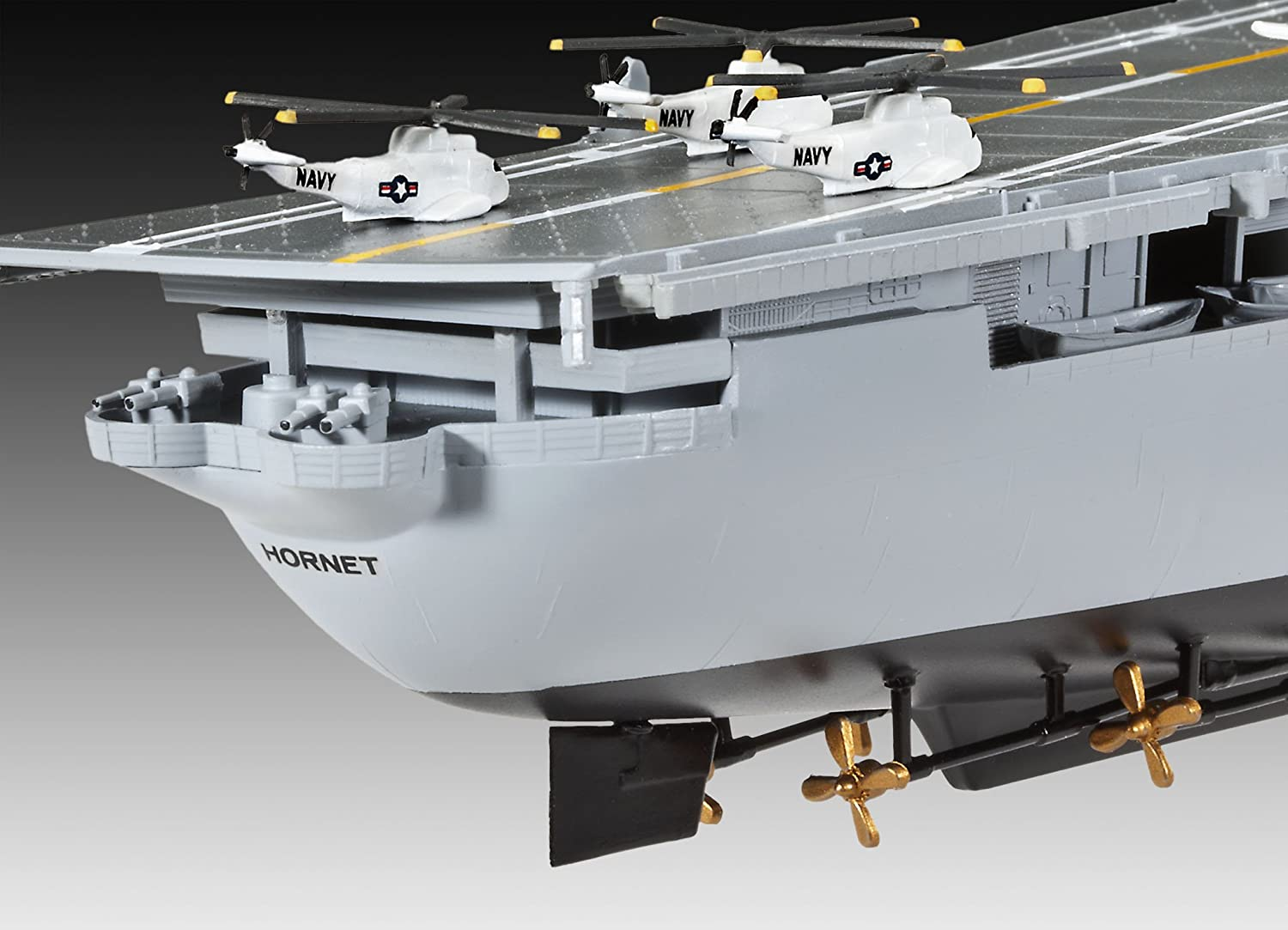 Revell 1:530 Scale U.S.S. Hornet CVS-12: Amazon.co.uk: Toys & Games