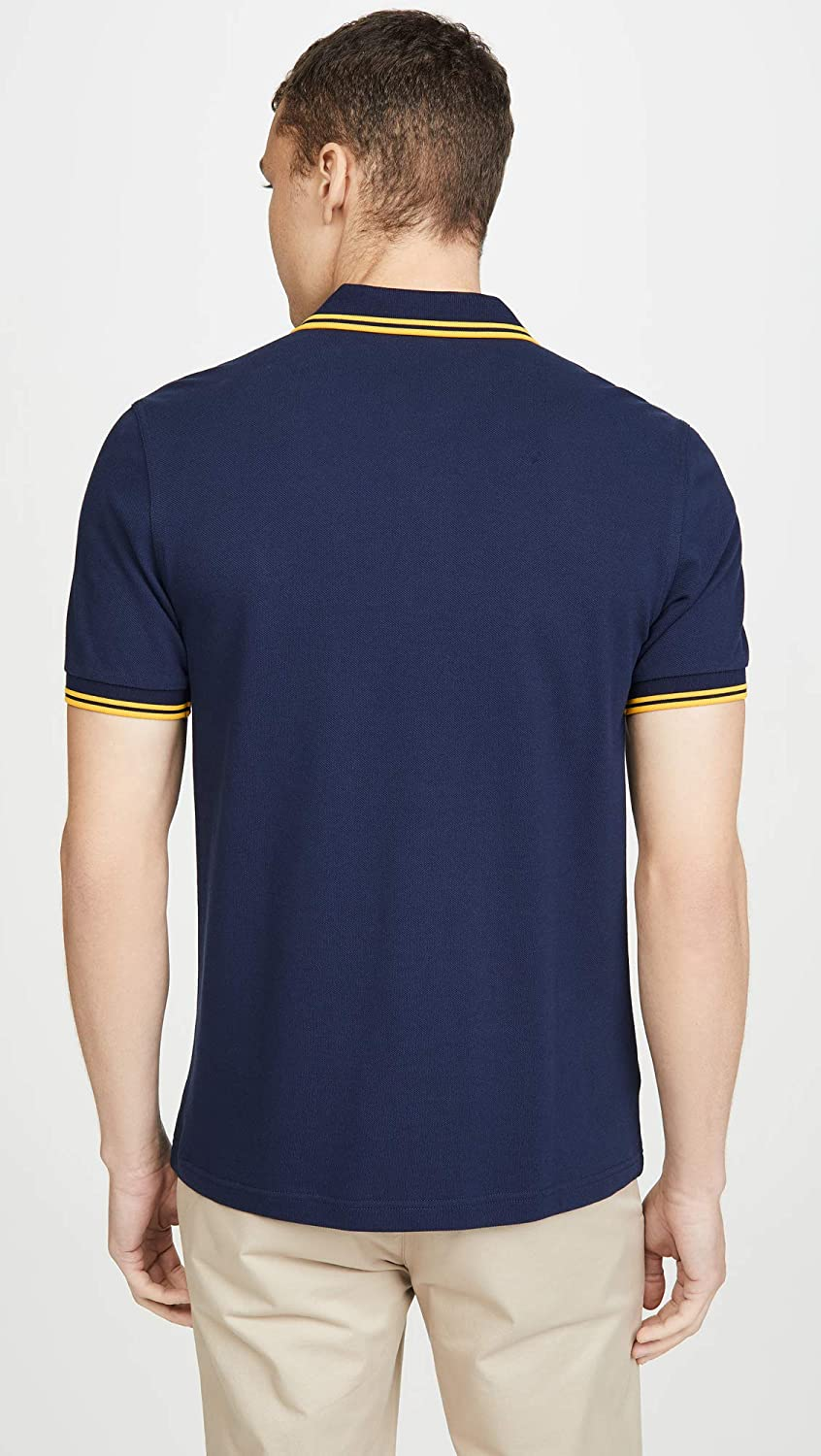 Fred Perry Mens Acid Brights Logo Polo Shirt