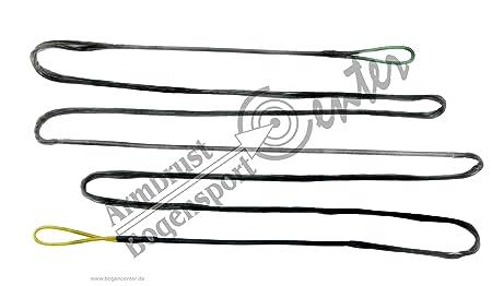 Black Flash Bogensehne Langbogen Recurvebogen Dacron Sehne 16 Strang f/ür Bogenl/änge 64 zoll