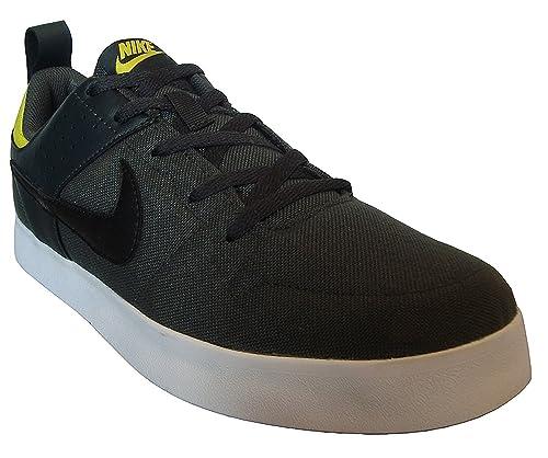 Nike Men s LITEFORCE III Anthracite Blk-Electrolme Basketball Shoes-5.5  UK India 501d18d59