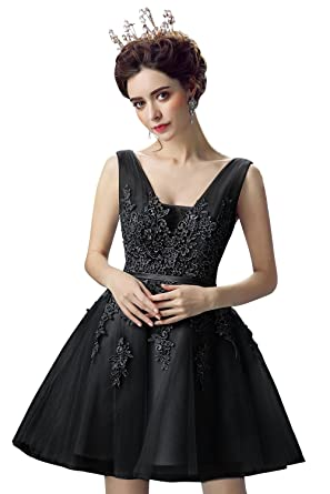aa0bf6055d3 Babyonlinedress Floral Lace tulle Princess Short Homecoming dress