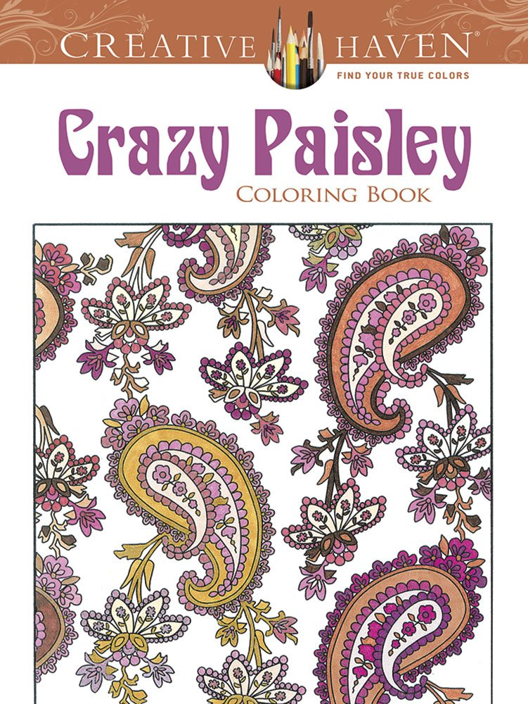 Creative Haven Crazy Paisley Coloring product image