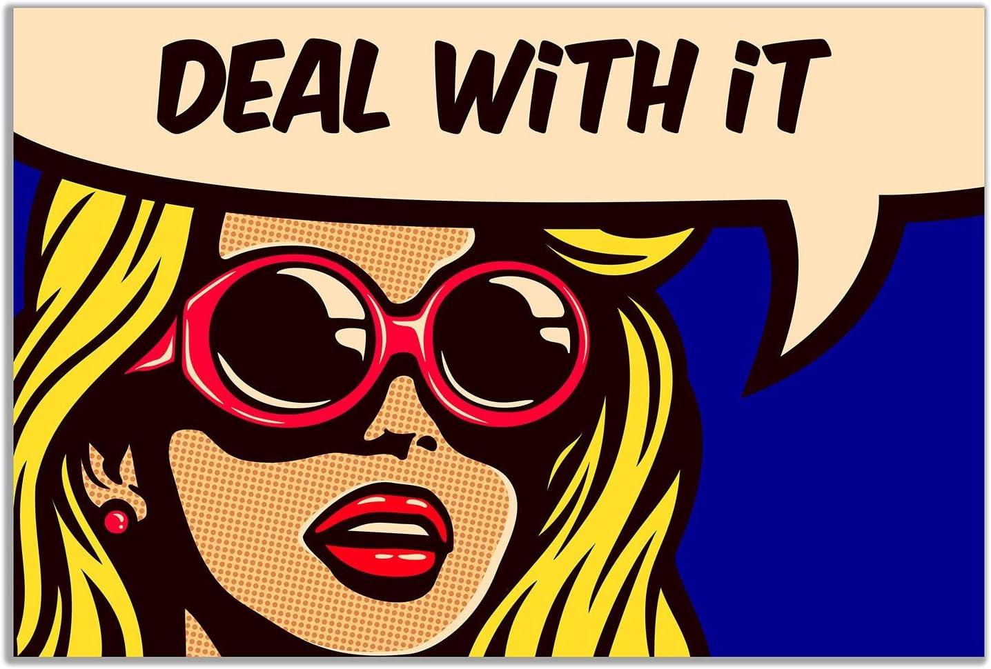 Premium-Poster Pop Art Mood