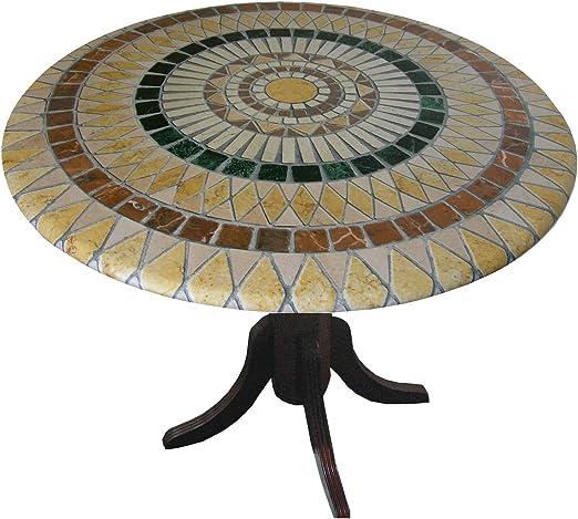 Mosaico mantel redondo 36