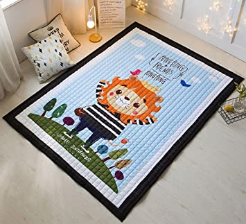 Amazon.com: zebrasmile Cartoon Baby Crawling Mat Niños Juego ...