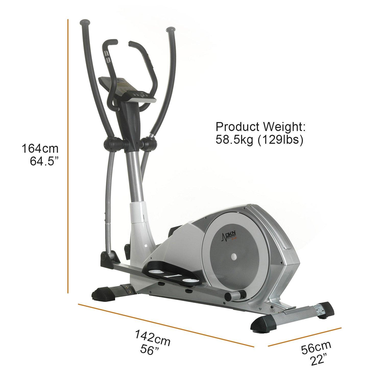 DKN XC 140 I - Elíptica de fitness programable: Amazon.es: Deportes y aire libre