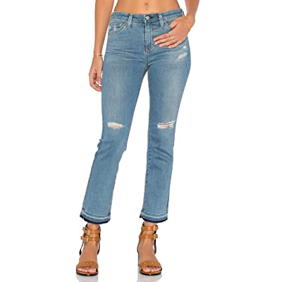 AG Jodi Cropped Ripped Cotton Jeans 26 at Amazon Women's Jeans store
