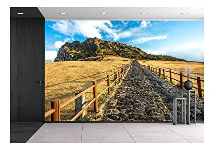Wall26 Songsan Ilchulbong In Jeju Island South Korea Removable Wall Mural Self Adhesive Large Wallpaper 66x96 Inches