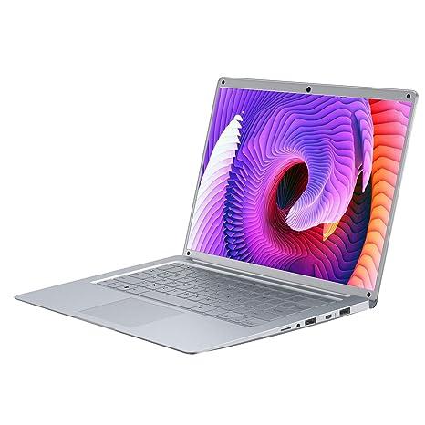 Ordenador portátil 14.1 DUODUOGO FullHD Windows 10 Intel Celeron J3455, 6GB RAM 128GB SSD con Teclado / Tarjeta TF de 500GB / WiFi de Doble Banda / ...