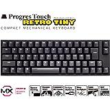 アーキス ProgresTouch RETRO TINY (タイニー) コンパクトメカニカルキーボード 日本語JIS配 AS-KBPD70/LRBKN