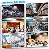 LED Garage Lights, Wsky 7200LM Deformable Garage