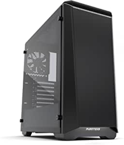 Phanteks Eclipse Steel ATX Mid Tower Case Satin Cases1 Black/White