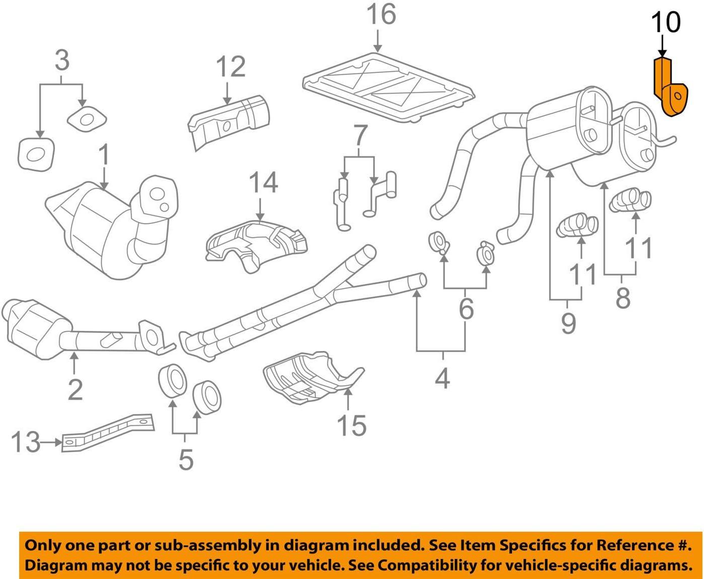 General Motors 22822466, Exhaust Bracket: Automotive