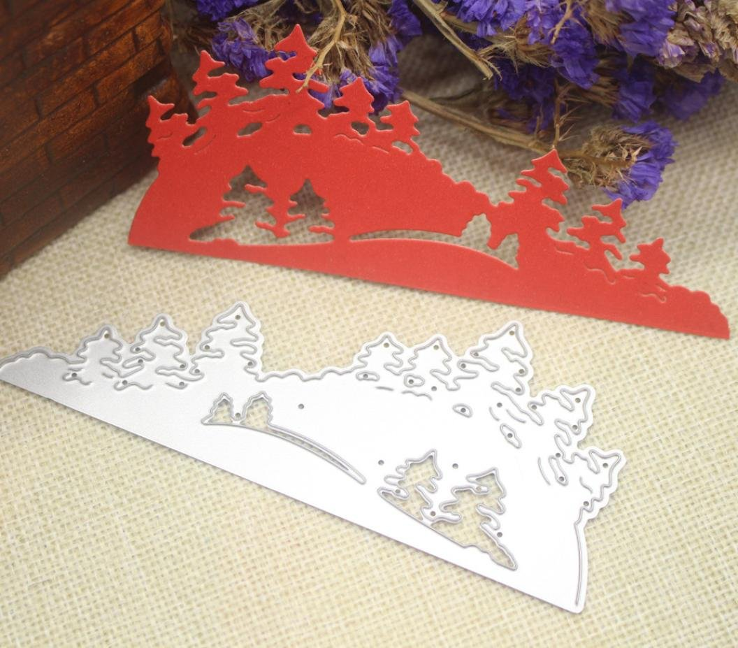 L Fabal Merry Christmas Metal Die Cutting Dies for Scrapbooking Photo Album Decorative Embossing Folder Stencil