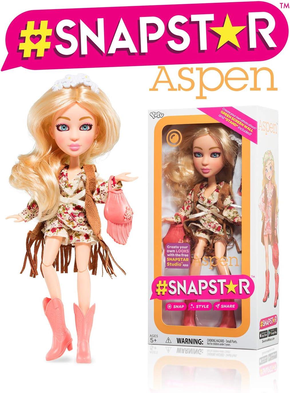 Yulu Toys Snapstar Aspen Fashion Doll 25cm: Amazon.fr: Jeux et Jouets