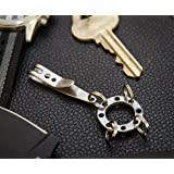 EDC Tactical Suspension Keychain Clip and Multi-Keyring System. Compact Key Ring