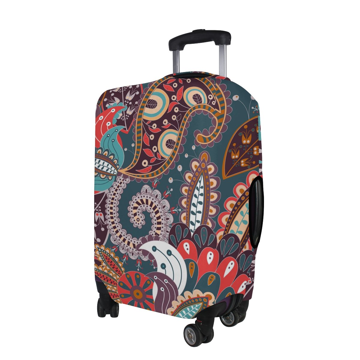Bohemian Hippie Print Travel Luggage Protector Baggage Suitcase Cover Fits 29-32 Inch Luggage by CoolPrintAll (Image #4)