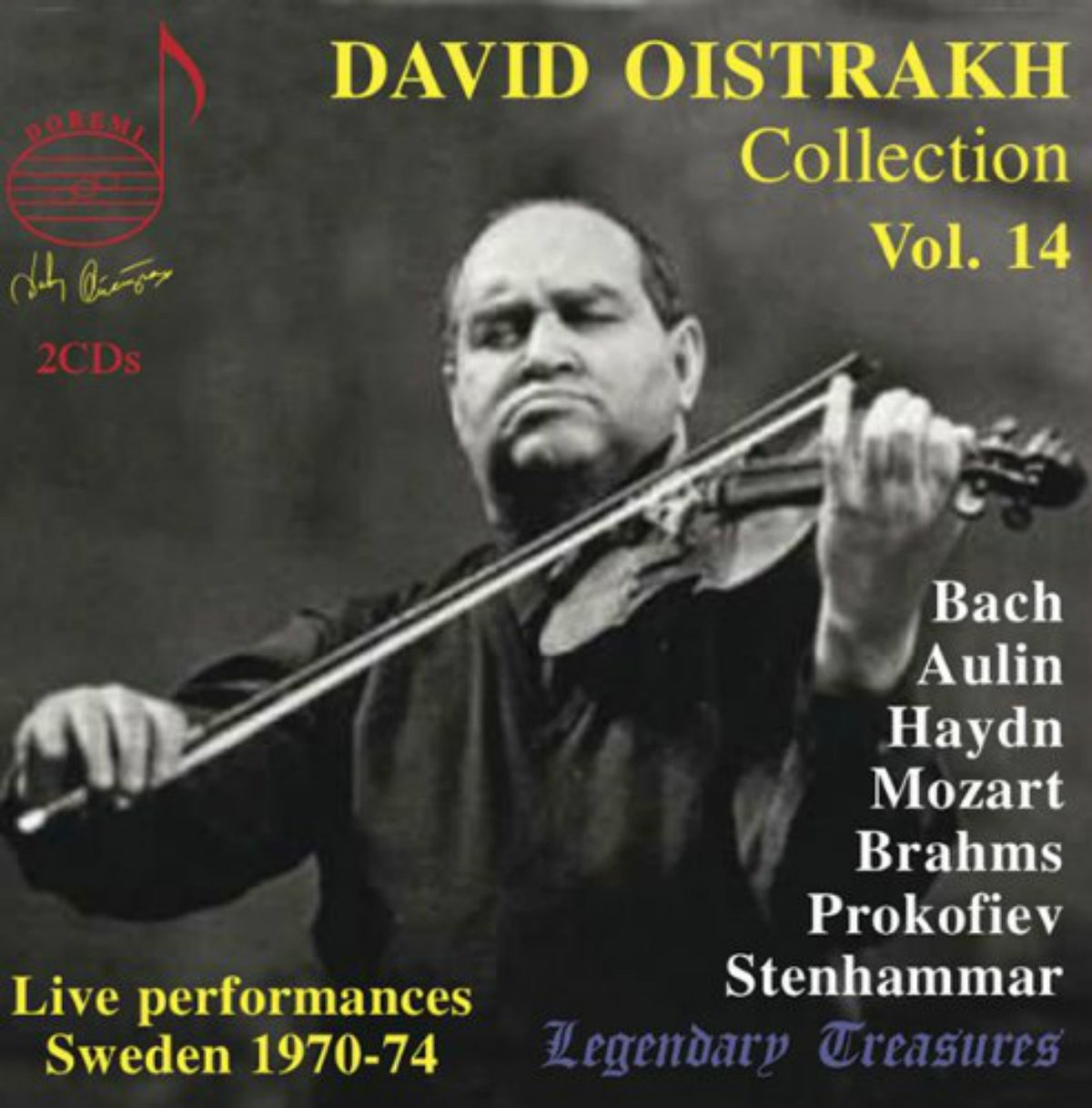 David Oistrakh Collection: Live from Sweden, Vol. 14 by DHR