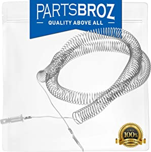 5300622034 Restring Coil for Frigidaire Electric Dryers by PartsBroz - Replaces AP2135128, 351, AH451032, EA451032, PS451032