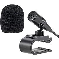 Lling(TM) Microphone externe 3,5mm pour voiture radio stéréo Bluetooth GPS DVD