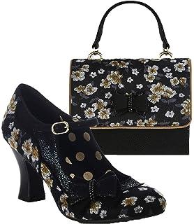 5940d9d064f Ruby Shoo Women s Camilla Mid Heel Mary Jane Shoes   Matching Casablanca Bag