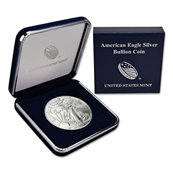2007 American Silver Eagle BU 1 oz Coin US $1 Dollar Mint Brilliant Uncirculated
