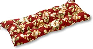 Greendale Home Fashions AZ4805-ROMAFLORAL Tuscan Floral 44-inch Outdoor Swing/Bench Cushion