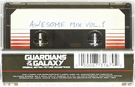 Soundtrack - Guardians Of The Galaxy  Awesome Mix Vol. 1  Cassette ... b446beea43f