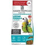 Tropican 1.8-Pound Lifetime Maintenance Parrot Granules, Standup Air Barrier Zipper Bag