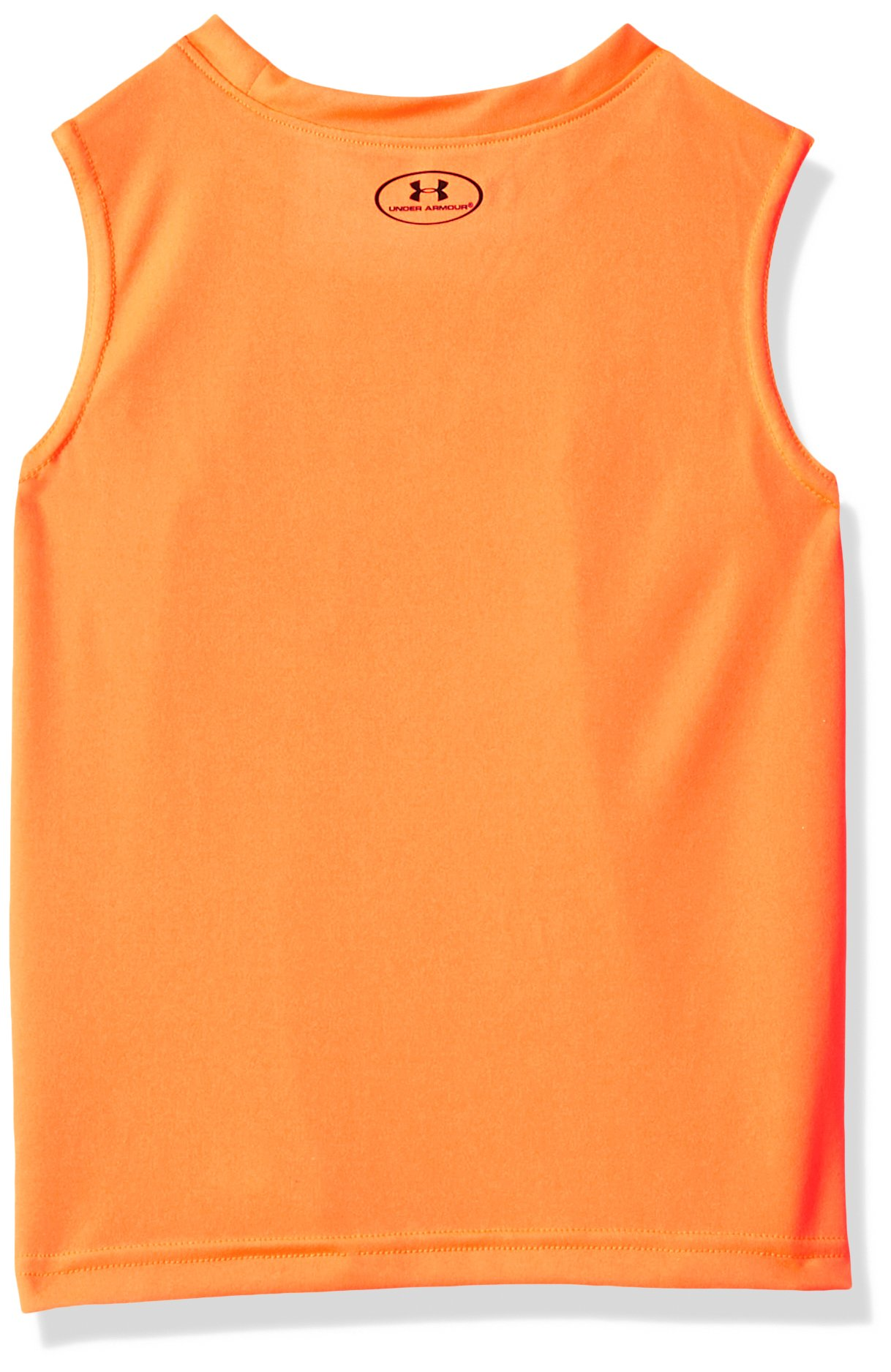 Under Armour Boys' Toddler UA Muscle Tank and Short Set, Magma Orange, 2T by Under Armour (Image #2)