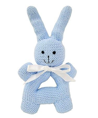 Amazon.com: Estella bebé sonajero juguete, conejo redondo ...
