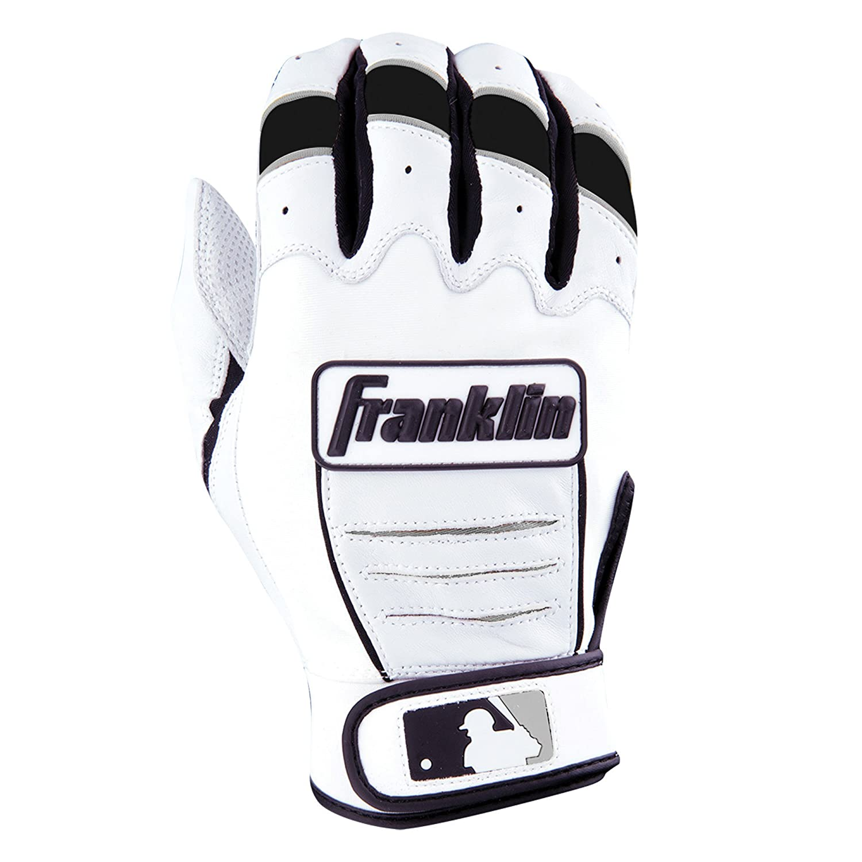 Franklin (フランクリン) スポーツ MLB CFX Pro バッティング グロ―ブ B00N4M4GW4 Adult XX-Large|Pearl/Black Pearl/Black Adult XX-Large
