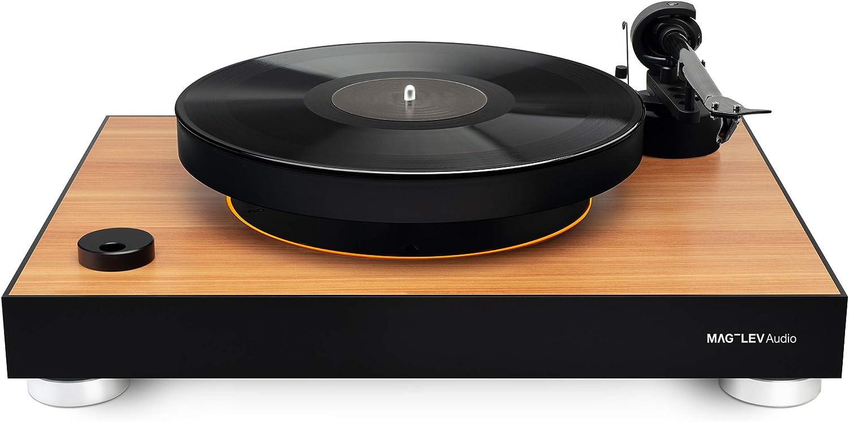 mag-Lev Audios Record Player ML1 Edición de Madera con una Placa ...