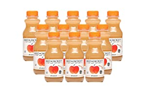 Red Jacket Orchards Fuji Apple Juice, Cold Pressed, 100% Juice, 12 FL OZ (12 COUNT)